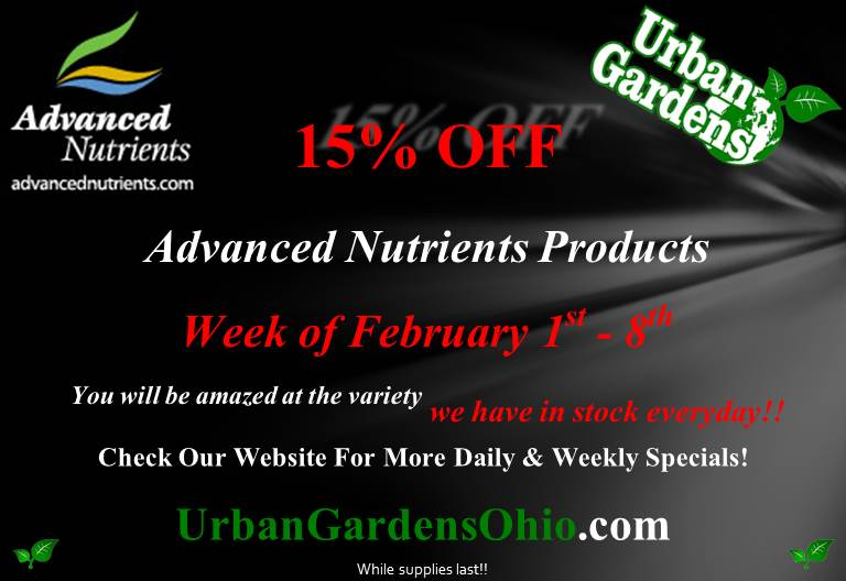 Advanced Nutrients Sale